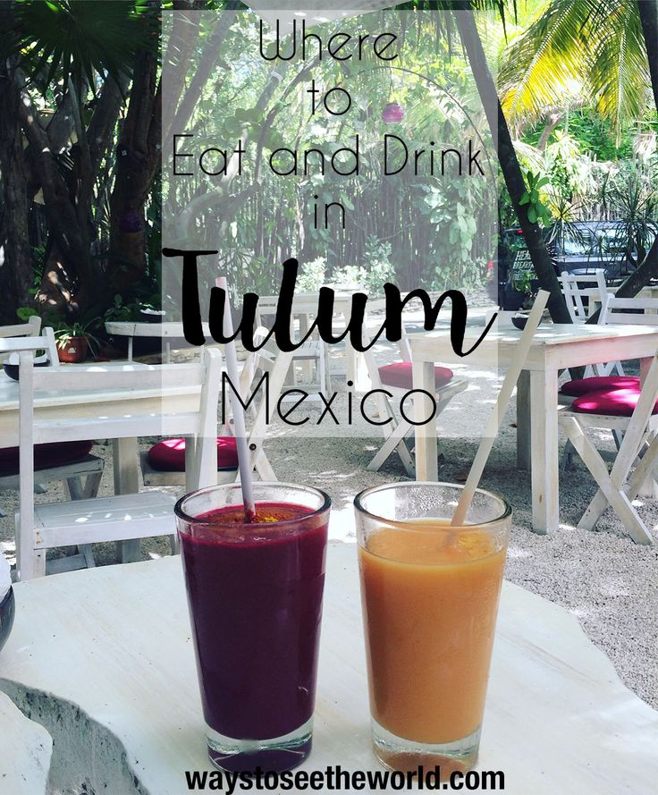 The best places to eat and drink in Tulum, Mexico. Mexican food is incredible but Tulum's trendy restaurant scene takes it to the next level. Read the full guide to Tulum's hottest bars and restaurants.