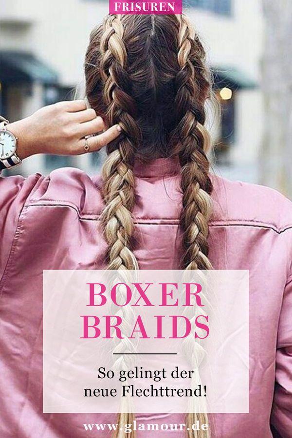 Boxer Braids: So gelingt die Flechtfrisur