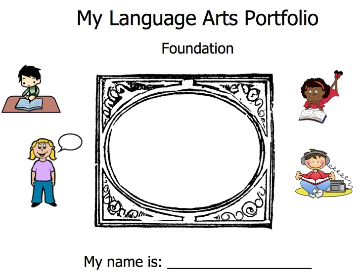 My Language Arts Portfolio for students. Use this downloadable PDF to record student's progress through the school year. The Portfolio is based on the Australian Curriculum Foundation/Kindergarten standards.
