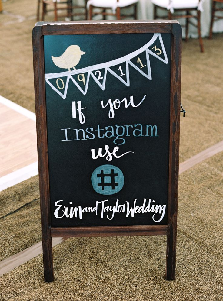Instagram Love -- See the wedding on SMP: http://www.StyleMePretty.com/tri-state-weddings/2014/02/24/traditional-elegant-wedding-in-darien/  Photography: Charlotte Jenks Lewis