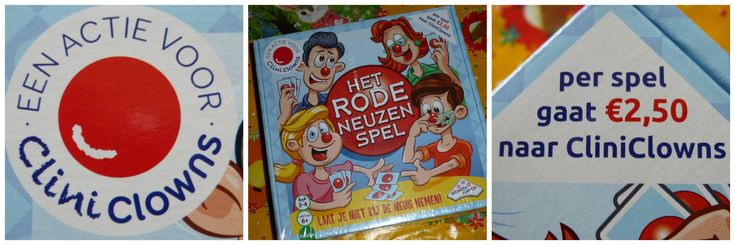 Gezellig spelletjes spelen én direct het goede doel van de CliniClowns steunen! Dat kan met de aankoop van Het rode neuzen spel! Wie kan het beste bluffen?