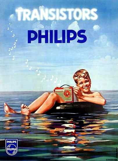 #Philips transistor radios