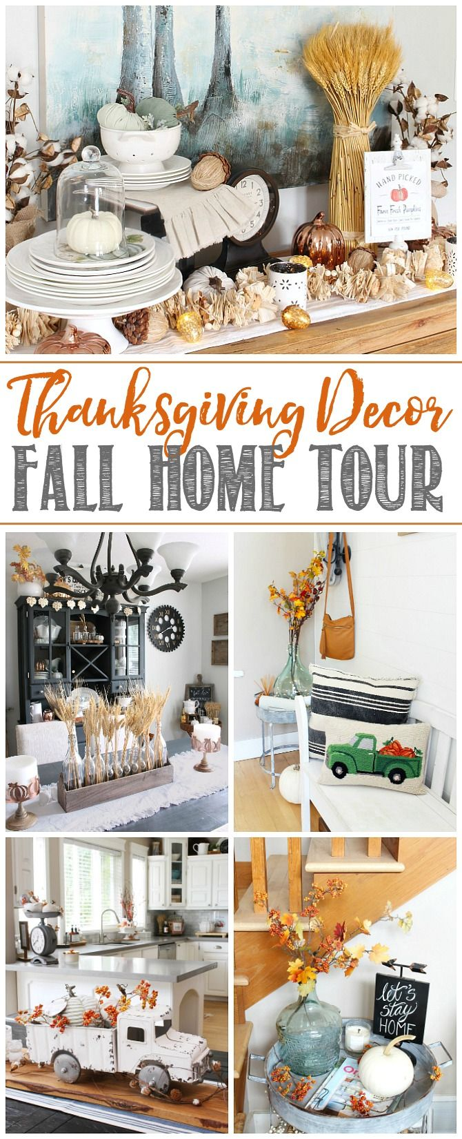 Full Fall Home Tour With Lots Of Simple Ideas To Decorate Your Home For Fall And