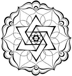 Mandalas for painting: coloring mandalas