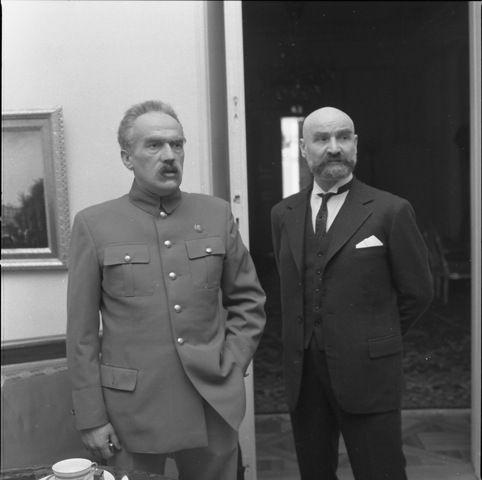 """Marshal of Poland Józef Piłsudski and Prime Minister Walery Sławek - """"Zamach Stanu"""" / """"The Coup d'Etat"""" (1981)"""