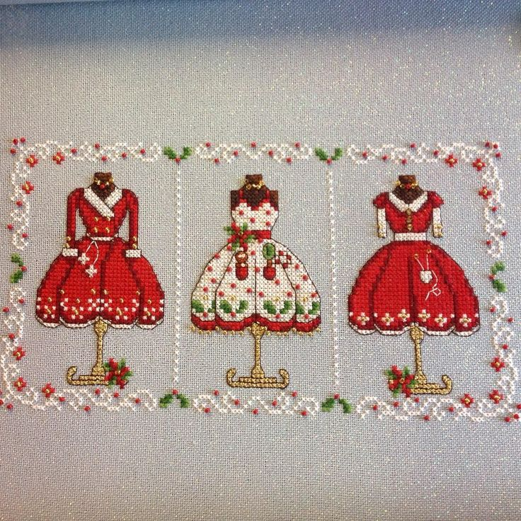 Mrs Clause's Dresses, fun design.