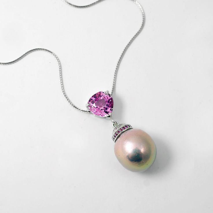 Kasumi pearl pendant