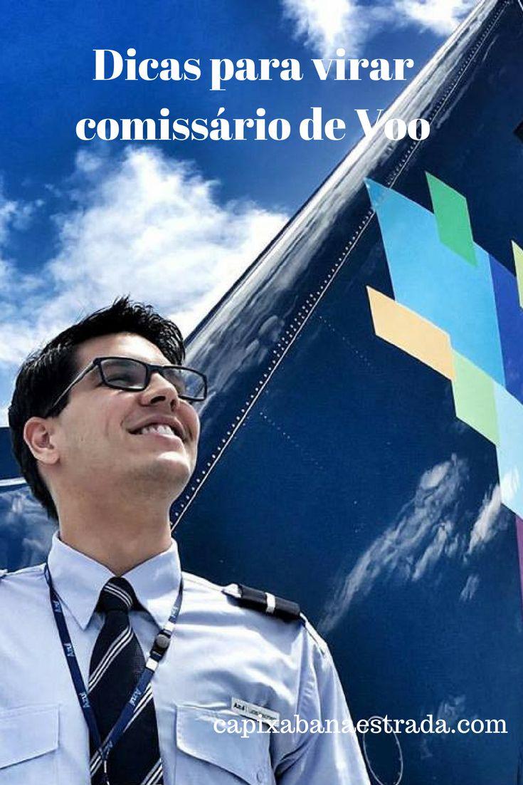 Tem vontade de ser comissário de voo? Saiba algumas dicas para quem pretende seguir carreira