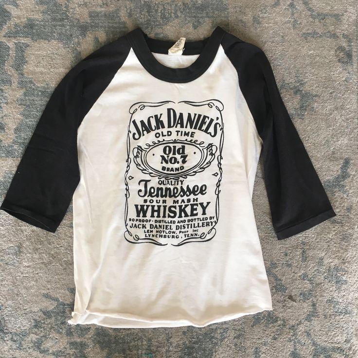 Jack Daniels Raglan Tee