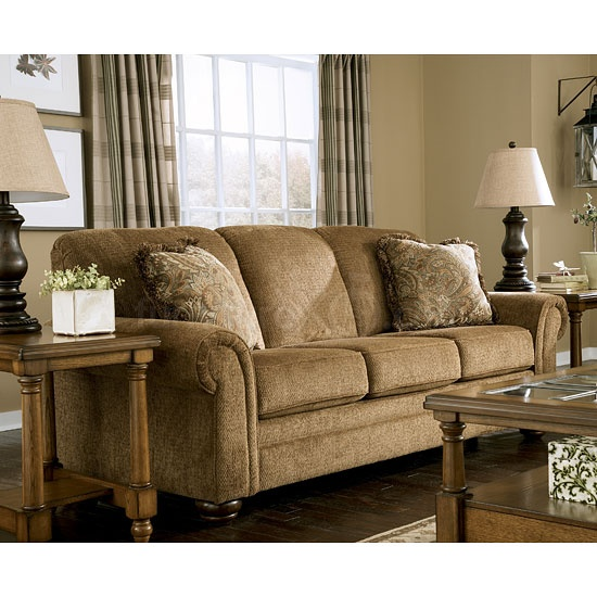 Ashley Furniture Sleepr Sofa Nutmeg Queen Sleeper