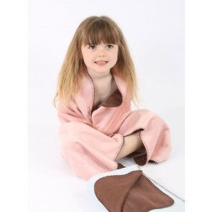 Beautiful baby blanket made from environmentally friendly bamboo! Also in blue.