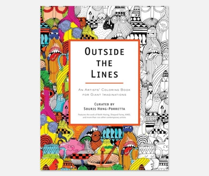 Outside The Lines Coloring Book Australia
