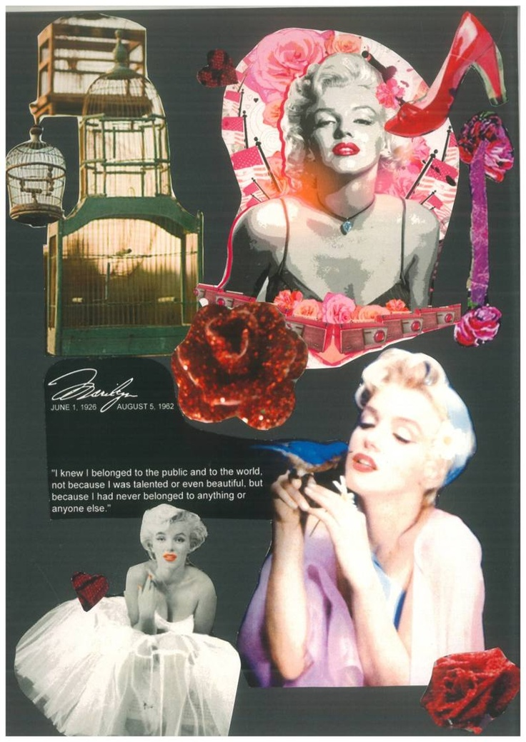 mood board inspiration, marilyn monroe