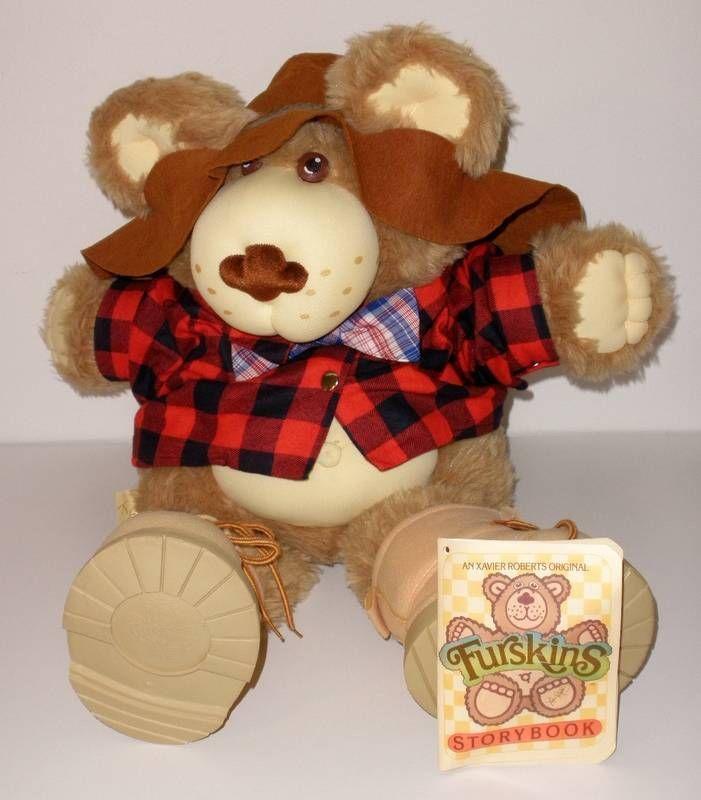 1985 Xavier Roberts Farrell Furskins Bear #Dolls