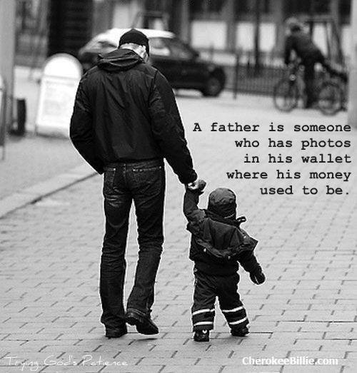 Happy #fathersday! (love has deep pockets)