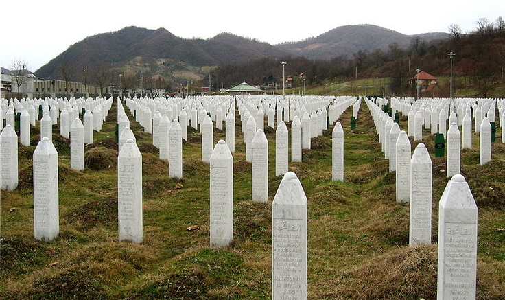 The Srebrenica massacre, also known as the Srebrenica genocide, refers to the July 1995 killing, during the Bosnian War, of more than 8,000 Bosniaks (Bosnian Muslims), mainly men and boys, in and around the town of Srebrenica in Bosnia and Herzegovina, by units of the Army of Republika Srpska (VRS) under the command of General Ratko Mladić. The mass murder was described by the Secretary-General of the United Nations as the worst crime on European soil since the Second World War.