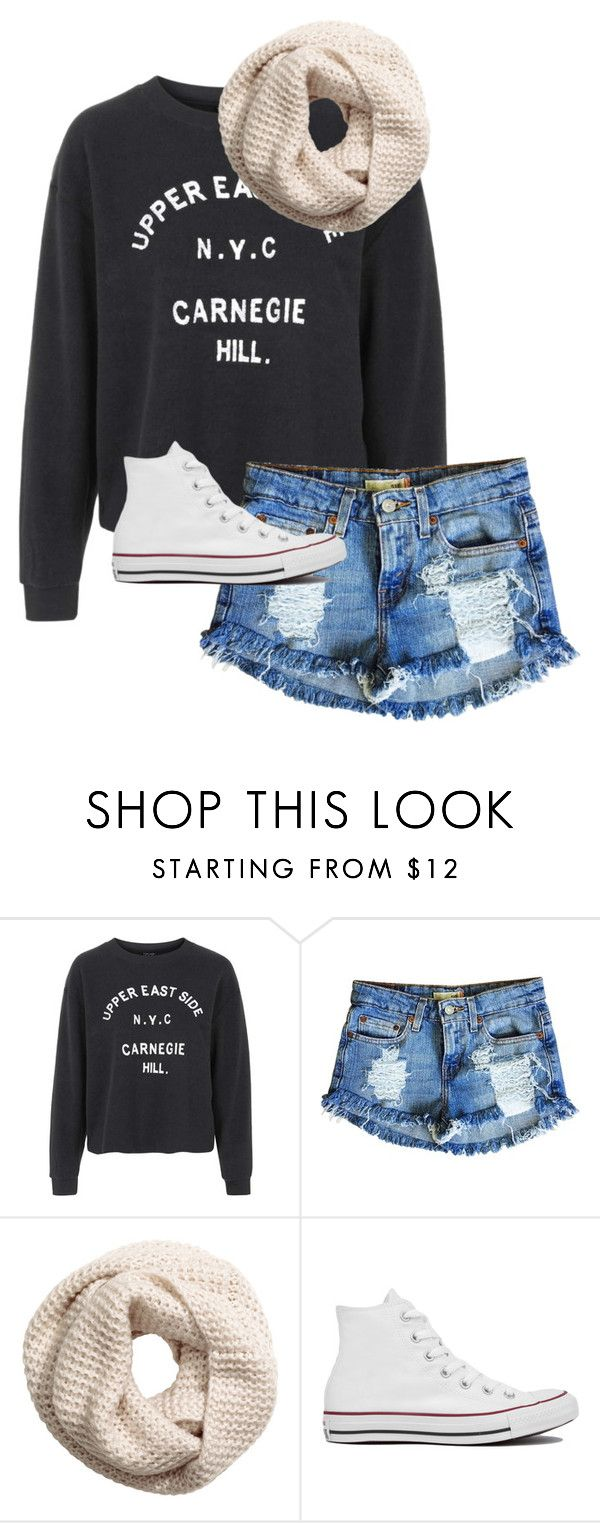 """./..././.../.././......//..//"" by anna-mae-equils ❤ liked on Polyvore featuring Topshop, Levi's, H&M and Converse"
