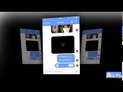 Il primo Messenger integrato, dove puoi: chiamare, inviare messaggi e gestire le tue attività con una sola applicazione. Scaricalo gratis su www.pushmeapp.org REGISTRATI QUI cliccando sul tasto JOIN  http://www.pushmecorp.com/2309  BLOG E NEWSLETTER  IN ITALIANO http://www.pushme.website/it/pushme/referral/?SPONSOR=ID2309