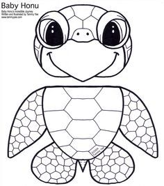 T is for turtle paper bag puppet printable template - Awesome Turtle and an Owl too!!