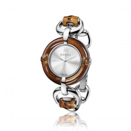 Orologio Gucci Bamboo unico ed esclusivo!  Scoprilo Online http://goo.gl/5MqkXL  #Orologio #GucciBamboo #Donna #Gioielli #Watchs #Jewes