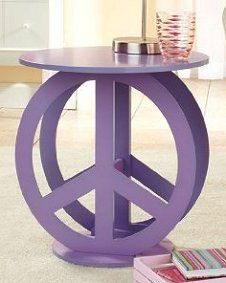 retro decorating - peace sign decorations - flower power teens hippie bedrooms - retro decor - groovy hippie chic girls bedrooms - tie dye decorations - 70s bedroom theme ideas - 60s themed bedroom design ideas - Peace Sign Bedding hippie bedroom - Hippie wall decals