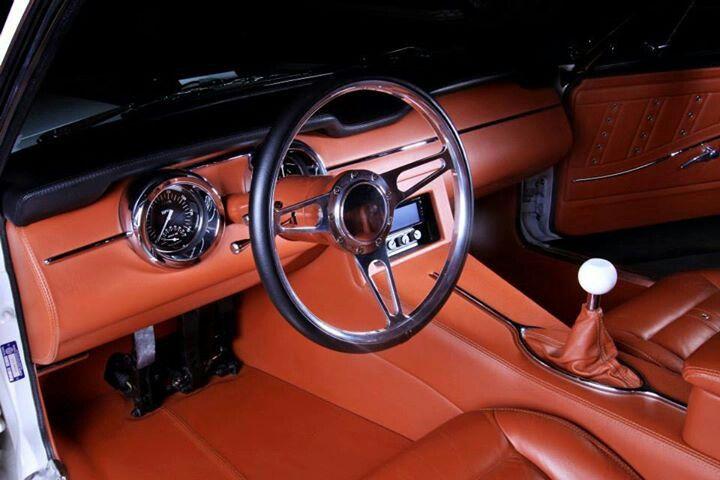 1968 Mustang Kindig It Design Muscle Car Interior