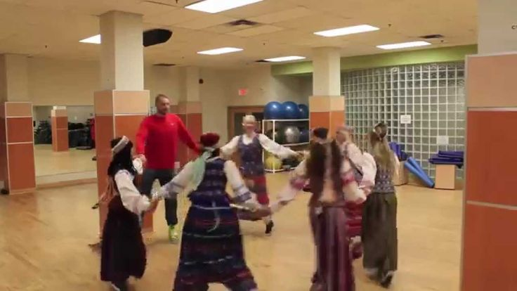 #ThisIsJonas: JV teaches the Raptors Dance Pak traditional Lithuanian dancing