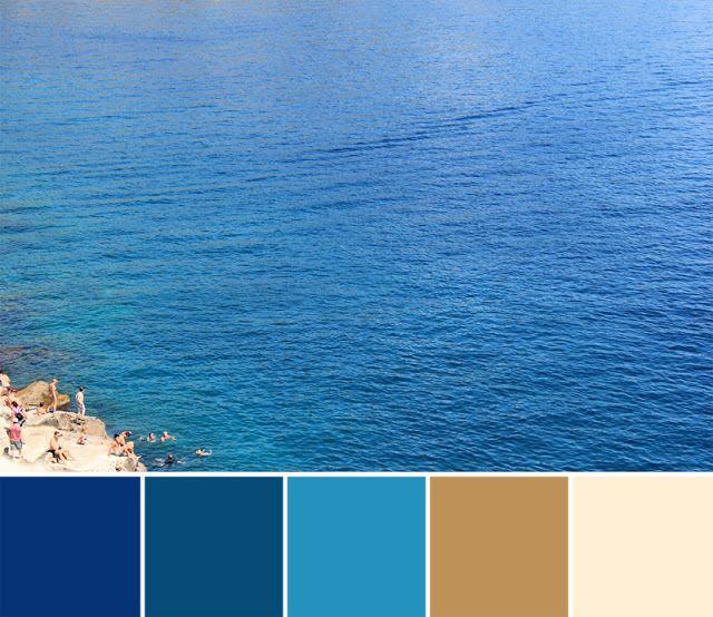 Ocean Color Palette: Color Palette Blog Walk: The Color Of Joy