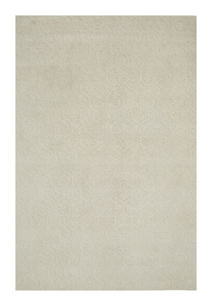 Modern - raw iron - ivory #1794 3.00 x 2.50m Himalaya Collection ~ New Zealand Wool Hand-Tussock Was R 28500 -50 % Now R14 250 ~Further REDUCTION R 28500 -60 % Now R11400