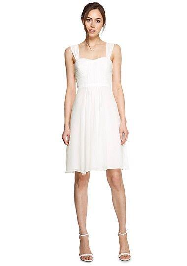 elegante kleider fuer damen bequem im s oliver online shop kaufen