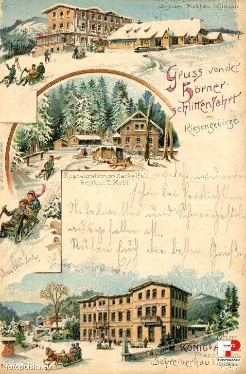 Dzielnica Szklarska Poręba Górna (Oberschreiberhau; Mariental), Szklarska Poręba - 1899 rok, stare zdjęcia