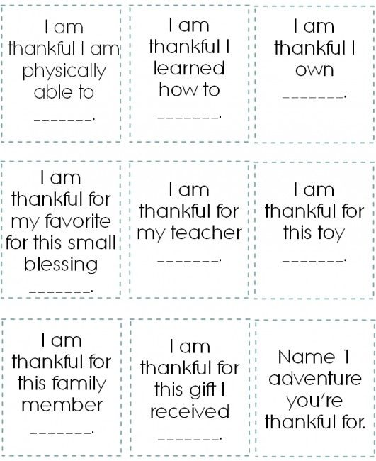 thanksgiving countdown - 21 days of gratitude printable - with prompts to help younger children get started