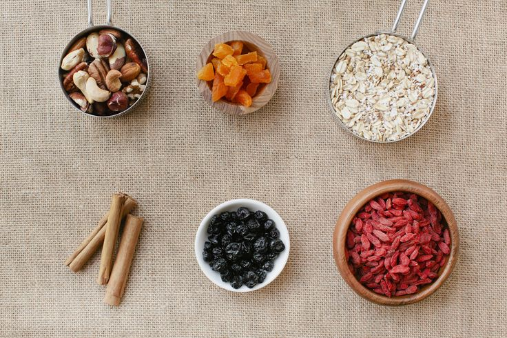 Selection of ingredients
