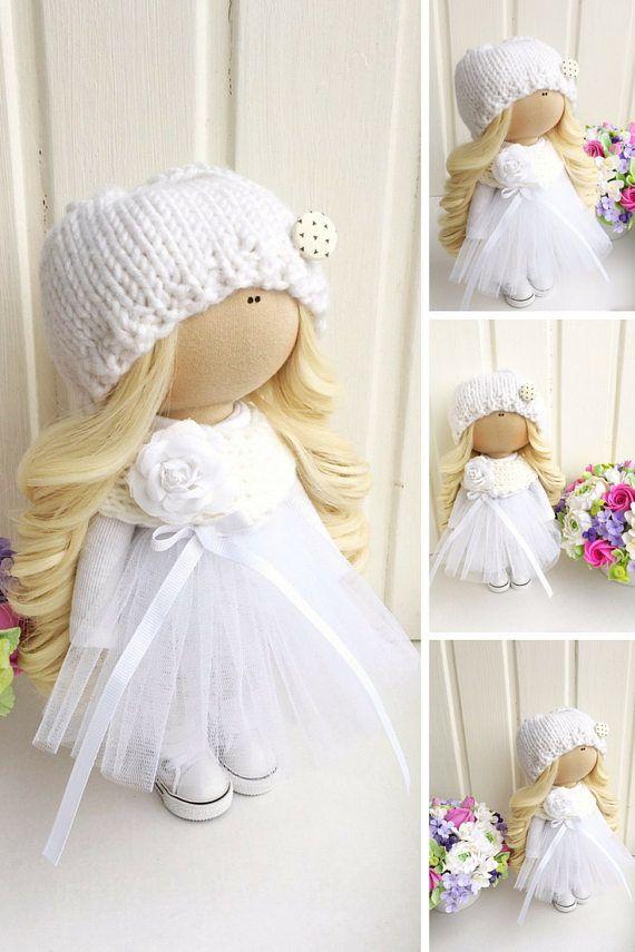Docka Kukull Soft doll Baba Panenka Rag doll Fabric doll Art
