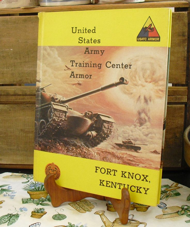 Vintage Army Armor Center and Fort Knox Training Center Armor, Fort Knox Basic Combat Training, Kentucky, 1973 Yearbook, Pictorial Record by AgsVintageCove on Etsy