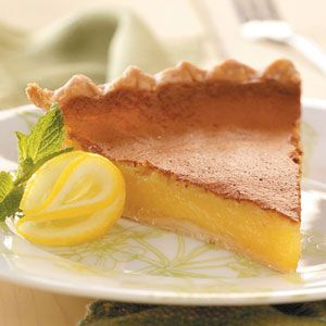 lemon is one of my favorite scents and flavors. yummm, lemon chess pie. i've got to make this for my b-day.