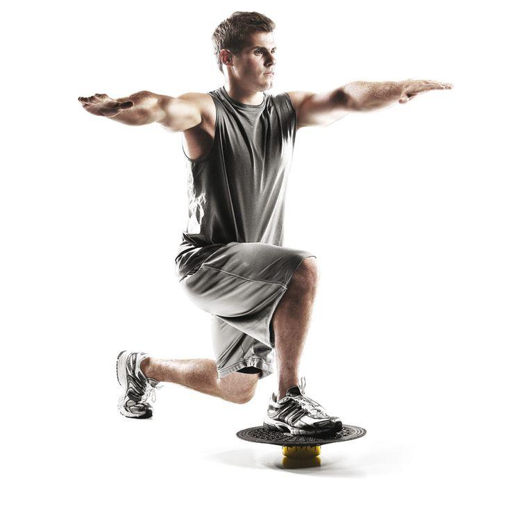 Mit dem SKLZ Balance Board lässt sich gezielt die sog. Core-Muskulatur aufbauen: Bauch-, Rücken-, Becken und Wirbelsäulenmuskeln. Beugt Haltungschäden und Schmerzen vor!