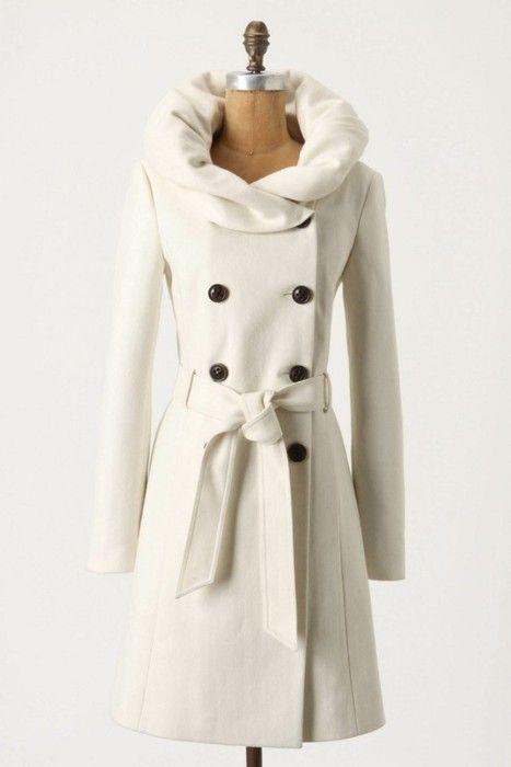beautiful coat!: Jacket, Fashion, Style, Runway Lapel, White Coats, Collar, Winter Coats