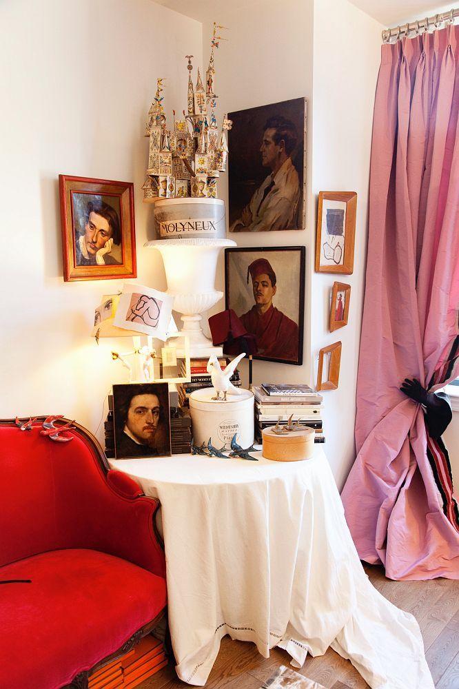 HOME & GARDEN: L'appartement d'Hervé Pierre à New-York