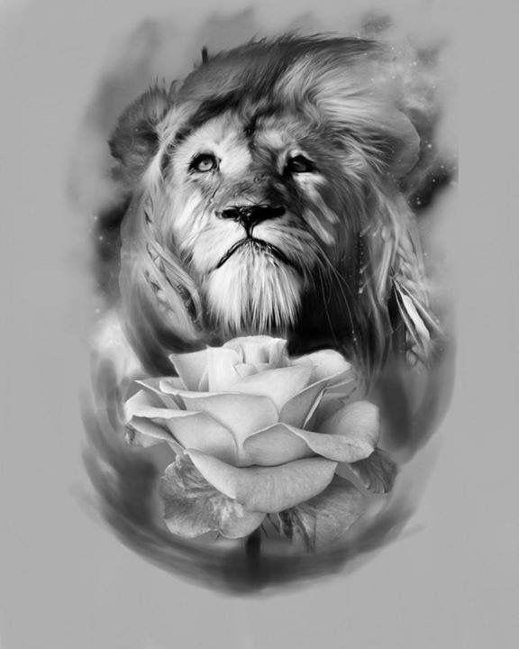 pin by nurullah ayd n on tattoo des gn pinterest lion. Black Bedroom Furniture Sets. Home Design Ideas