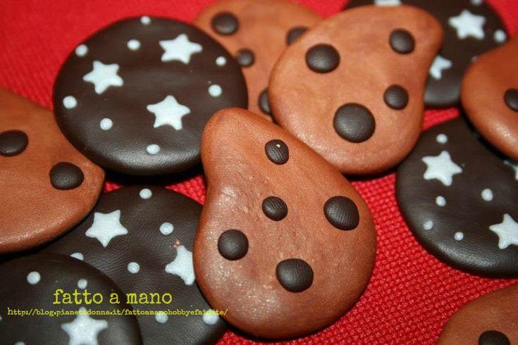Calamita biscotto in cernit