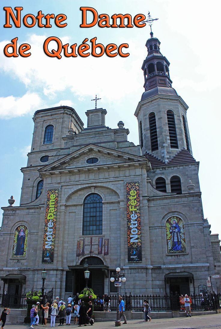 Notre Dame de Quebec Cathedral-Basilica and the Holy Door - Justin Plus Lauren