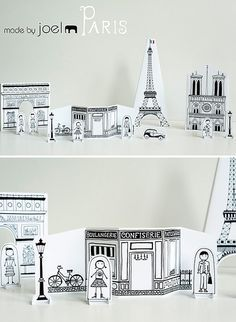 Free downloadable cityscape by Made by Joel #Paris