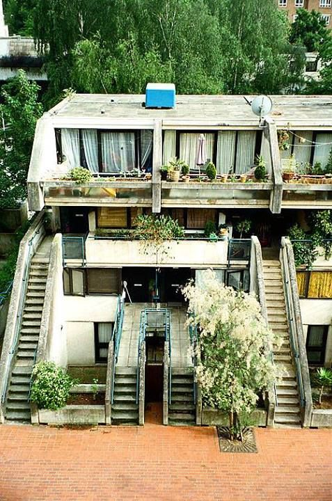 Alexandra Road Estate, London Architect: Neave Brown