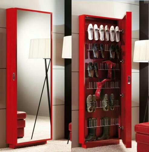 another shoe cabinet option for small entryways