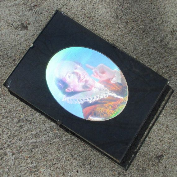 RETRO 70's HOLOGRAM PICTURE Holographic Three by TREASUREandSUCH, $25.00