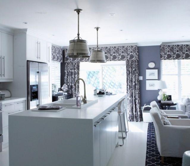 Contemporary Kitchen Curtain Ideas: 1000+ Ideas About Modern Kitchen Curtains On Pinterest