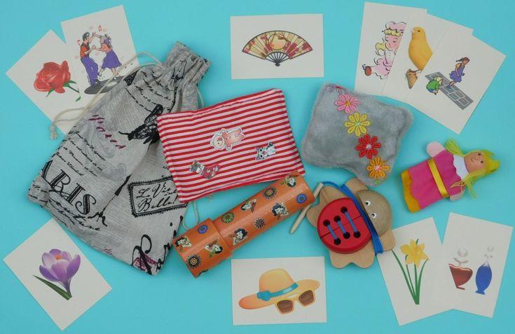 Ladies Tactile Activity and Rummage Bag