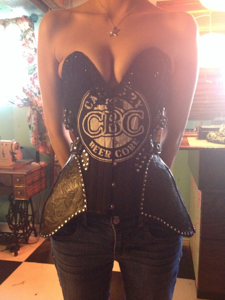 Betty Galore Couture Over Bust Tee Shirt Corset With