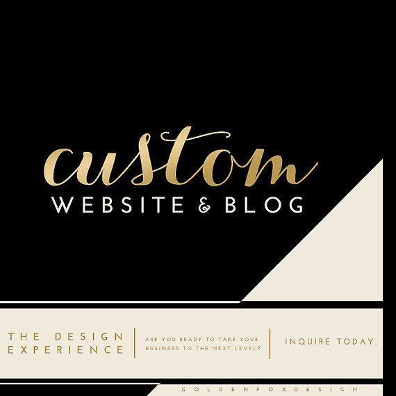 Custom Website and Blog, Responsive Mobile friendly Website design for photographers, event planners,business owners, Wordpress Website Blog